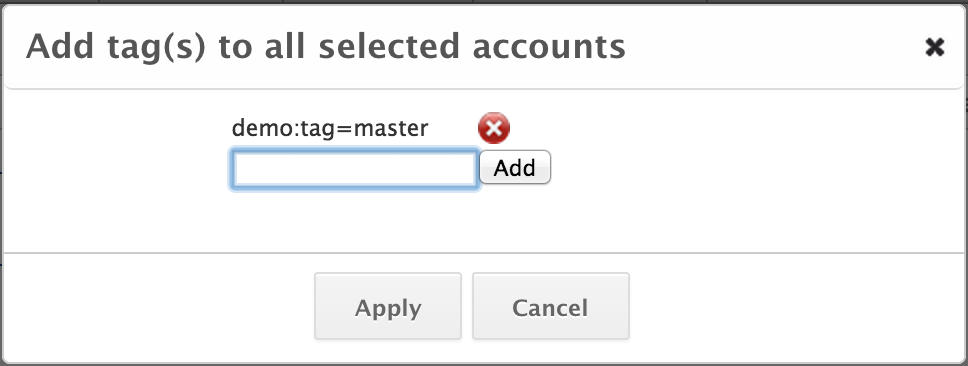 Use Account Tags
