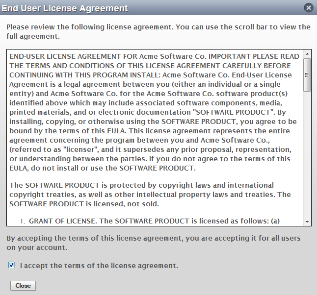 an analysis of the electronic end user software license agreement